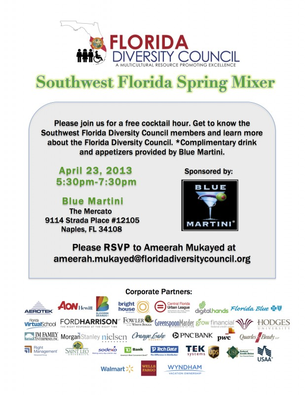 Southwest Florida Spring Mixer flyer